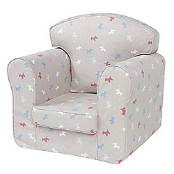 Children's Single Sofa Chair - Little Dogs