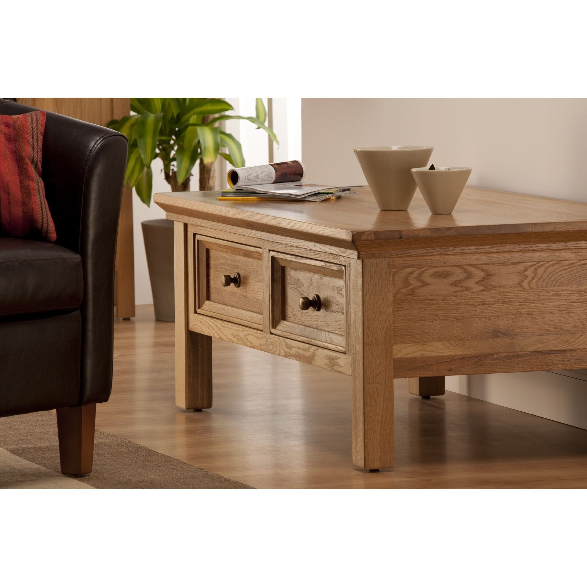 Home And Garden Furniture Home Essence Alexander Nest Of Tables In Natural Oak Veneer
