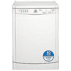 Indesit Dishwasher, DFG15B1, White