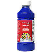 Reeves 500ml Ready Mix Paint - Brilliant Blue - Art Store