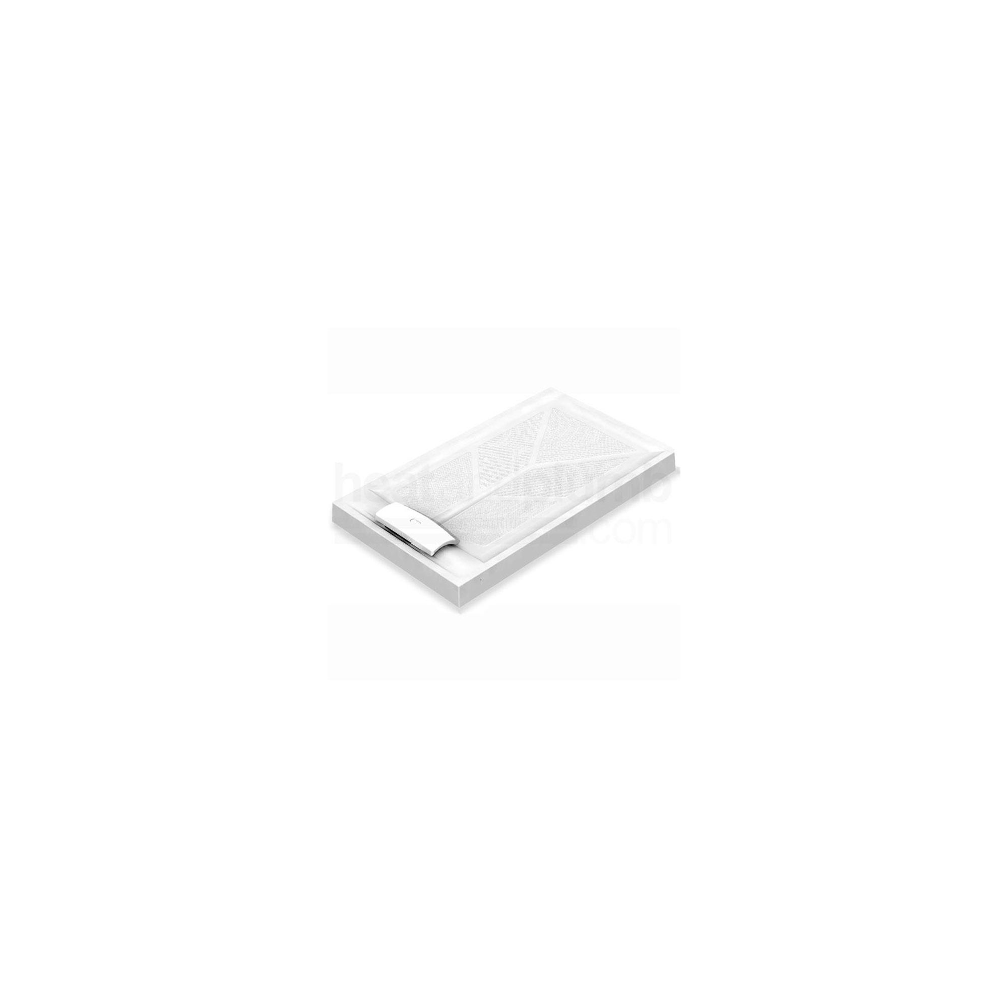 AKW Sulby Rectangular Shower Tray 1300mm x 700mm x 110mm High at Tesco Direct