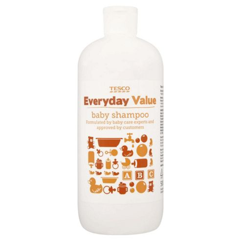 buy tesco everyday value baby shampoo 500ml from our bath tubs range tesco. Black Bedroom Furniture Sets. Home Design Ideas