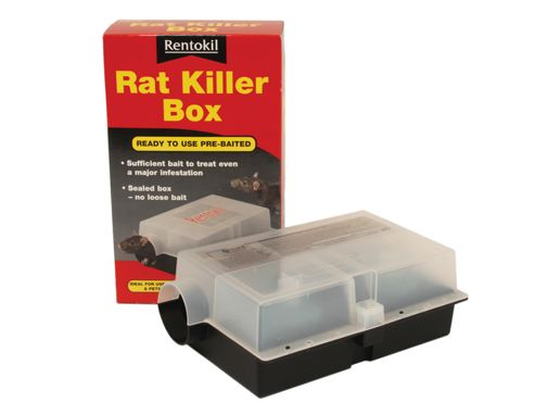 Renotkil Psr107 Pre Baited Rat Killer Box