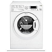 Hotpoint WMUD10637P Washing Machine, 10Kg Wash Load, 1600 RPM Spin, A+++ Energy Rating, White