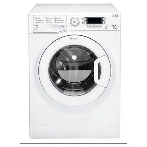Hotpoint WMUD10637P Washing Machine, 10kg Load, 1600 RPM Spin, A+++ Energy Rating, White