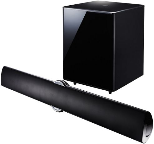 SAMSUNG HTE8200 SOUNDBAR WITH BUILT IN BLU-RAY/DVD PLAYER