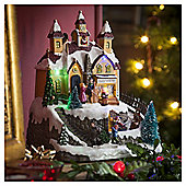 Light-up Toy Shop Decoration with Music