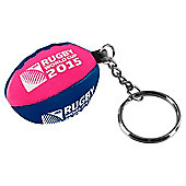 Rugby World Cup 2015 Rugby Ball Keyring