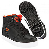 Heelys Cart 2.0 Black/Red Heely Shoe - - Black