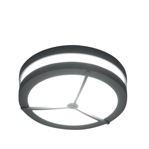 Lutec Mtitan 3171S Aluminium Small Round Wall Light