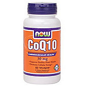 Now Co Q10 30mg 60 Capsules