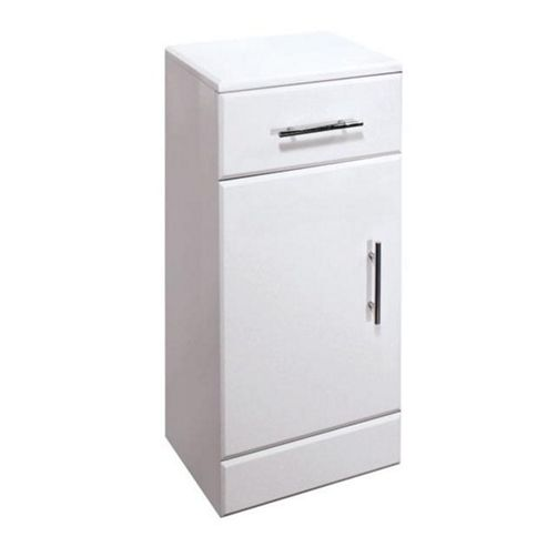 Premier Cupboard Vanity Unit High Gloss White 250mm Wide x 330mm Deep