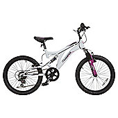 "Muddyfox Diversity 20"" Girls' Dual Suspension Mountain Bike"