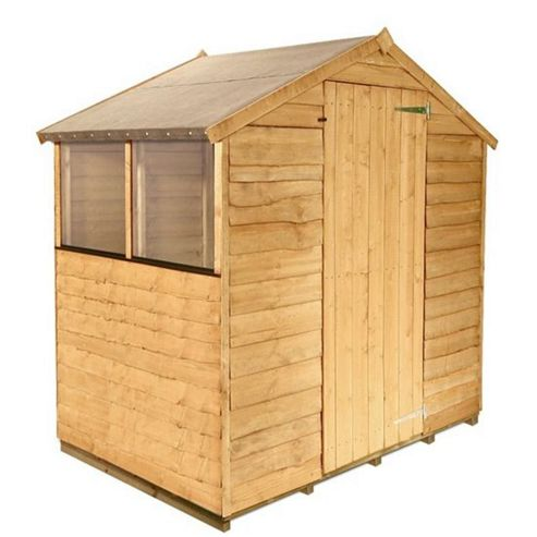 BillyOh 20 4 x 6 Rustic Overlap Apex Shed