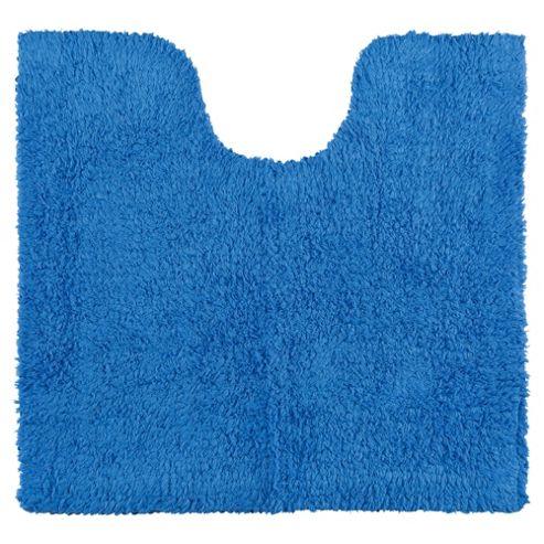 buy tesco reversible pedestal and bath mat set royal blue. Black Bedroom Furniture Sets. Home Design Ideas