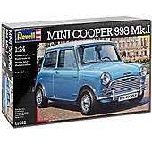 Revell Mini Cooper 998 Mk.I 1:24 Model Car Kit - 07092