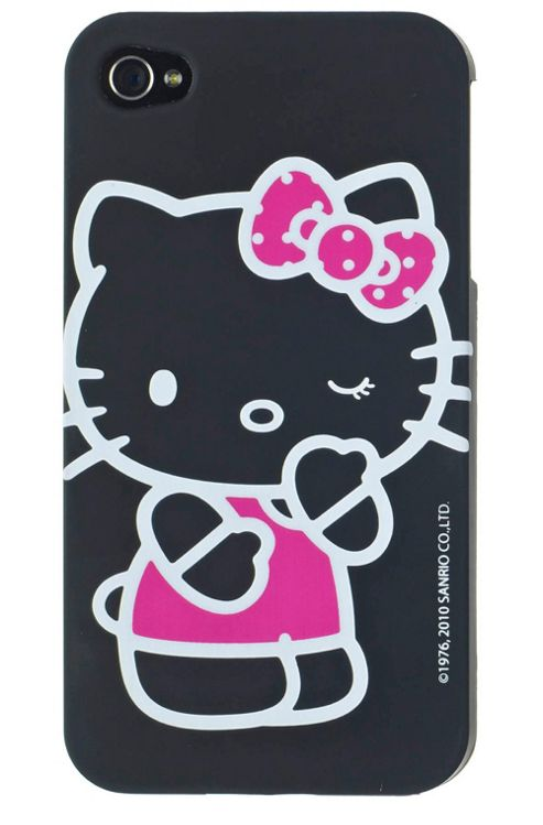 Hello Kitty Bold Case for Apple iPhone 4/4S - Black