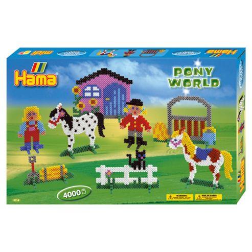 Hama Beads Pony World
