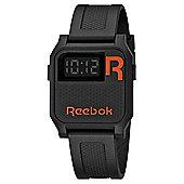 Reebok Vintage Nerd Unisex Silicone Alarm Stopwatch Watch RC-VNE-U9-PBPB-BO