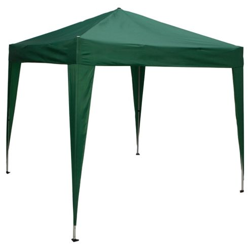 Tesco Polyester Pop Up Gazebo - 2.4mx2.4m Water Resistant 210g