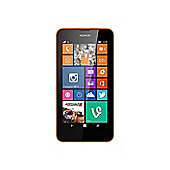 Nokia Lumia 630 Windows Smartphone (Orange)