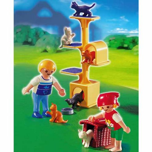 Playmobil - Cat Scratch Tree 4347
