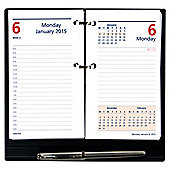 Collins Colplan Daily Desk Planner 2015
