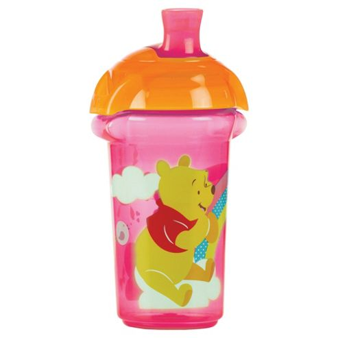 Winnie The Pooh Pink Click Lock Spill Proof Cup