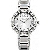Lipsy Ladies Crystal Set Stainless Steel Watch - LP127