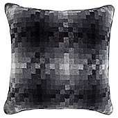 Pixelated Cushion Grey