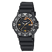 M-Watch Maxi Aqua Mens Rubber Date Rotating Bezel Watch A661DIV.720204U
