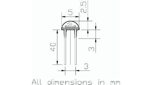 16k-23k Ohm Light Dependent Resistor