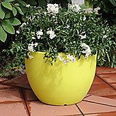 Farmet New Orione Round Pot - Green - 30cm H x 40cm W x 40cm D