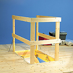 Laddaway Wooden Loft Balustrade Kit