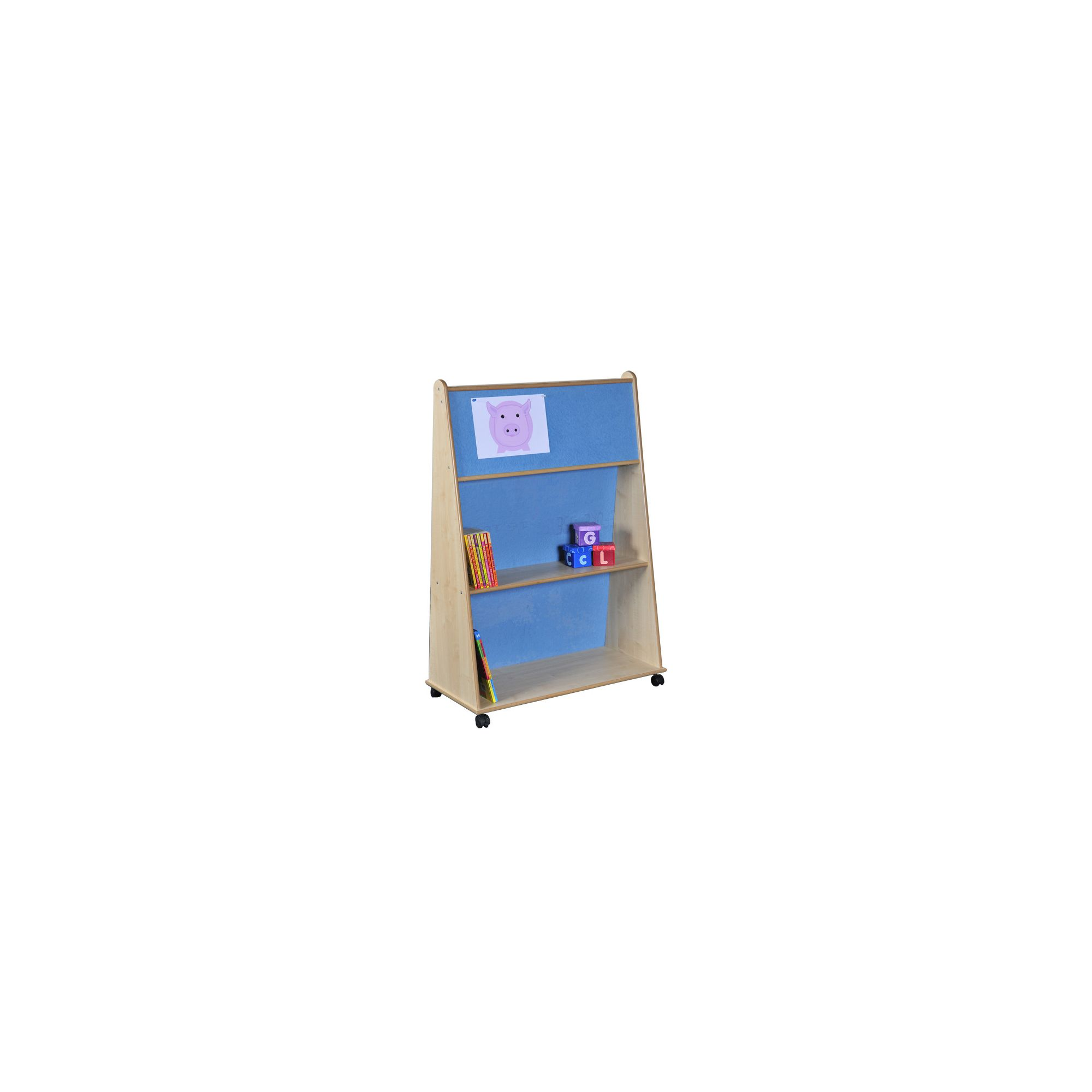 Liberty House Toys Wedge Storage Unit with Pin Board at Tesco Direct
