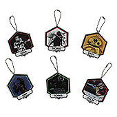 Star Wars Force Awakens Personalised Christmas Tree Decorations set of six