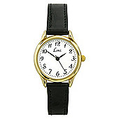 Limit Ladies Classic Gold Case Watch