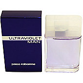Paco Rabanne Ultraviolet Man Aftershave 100ml Splash For Men