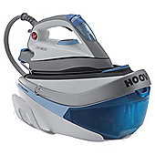Hoover SRD4107/2  Multi-Steam Technology Iron with Ceramic Plate - White/Blue