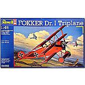 Revell Fokker Triplane Dr.I 1:48 Aircraft Model Kit - 04682