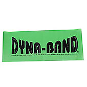 DYNA-BAND Aerobic Exercise Fitness Pilates Physio Latex Stretch Band - Green