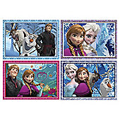 Disney Frozen 4-in-1 Puzzles