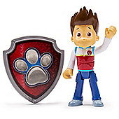 Paw Patrol - Action Pack Ryder Figure and Badge