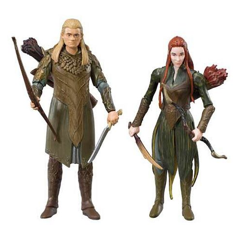 The Hobbit Lego Two Figures Adventure Pack Legolas and Tauriel