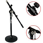 Tiger Low Level Desk Mic Stand with Round Base