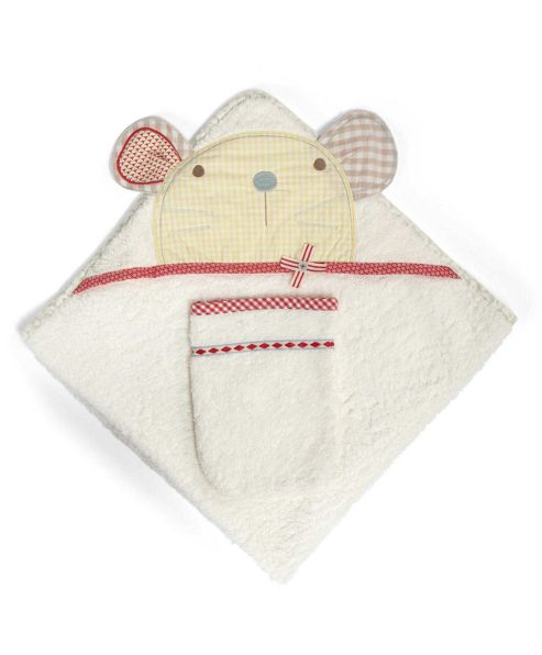 Mamas & Papas - Whirligig - Hooded Towel & Mitt Set