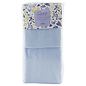 Tesco Cot 2 Fitted Sheets, Blue