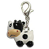 Cute Cow Clip on Charm
