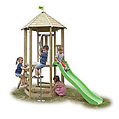 TP Toys Castlewood Tower with Lime Green Wavy Slide
