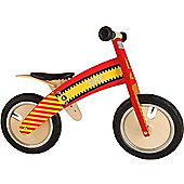Kiddimoto Kurve Balance Bike (Fire)